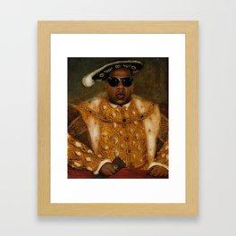 Jay in Shades Framed Art Print