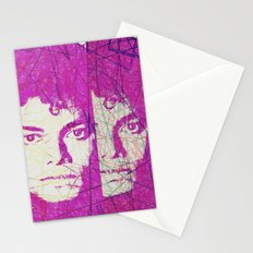 Pop art Michael Stationery Cards