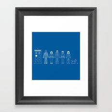 A Family of 10 Framed Art Print