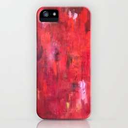 Meditations on Red iPhone Case