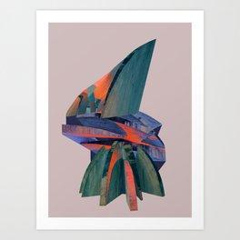 Wood Stacks Art Print