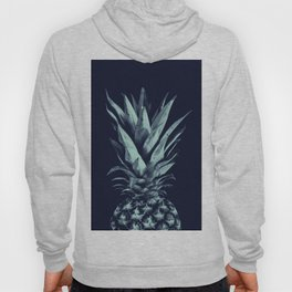 Navy Blue Pineapple Dream #1 #tropical #fruit #decor #art #society6 Hoody
