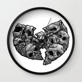 WuSkulls Wall Clock