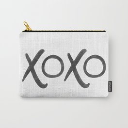 watercolor xoxo Carry-All Pouch
