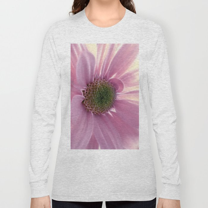 Softly in Pink Long Sleeve T-shirt
