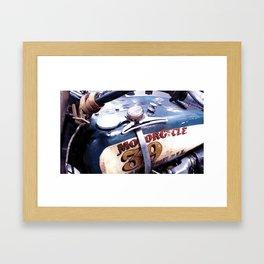 MOTORCYCLE 39 Framed Art Print
