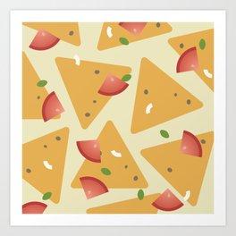 Chips & Salsa Art Print