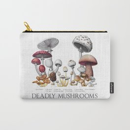 Deadly Mushrooms of North America Carry-All Pouch