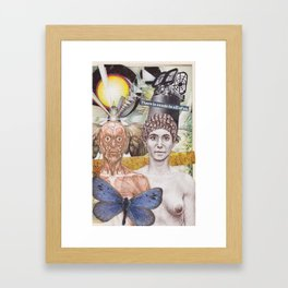 My Song Is Your Song Framed Art Print