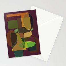 Bend me shape me Stationery Cards