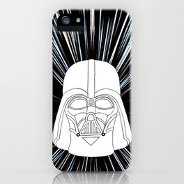 Vader in Hyperspace iPhone Case