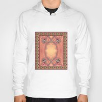 ashton irwin Hoodies featuring Ebola Tapestry-2 by Alhan Irwin by Microbioart