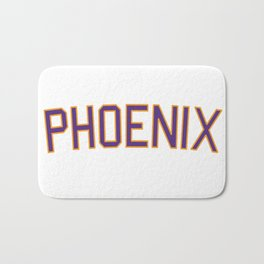 Phoenix Sports College Font Bath Mat