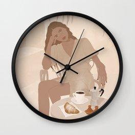 Coffe time  Wall Clock