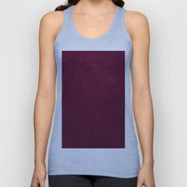 Hand painted modern abstract burgundy marble watercolor Unisex Tank Top