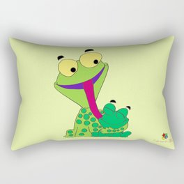Froggy's Father's Day Rectangular Pillow