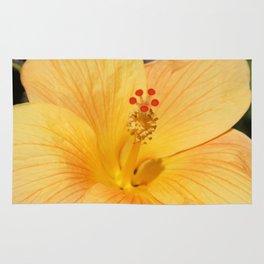 Golden Hibiscus Rug