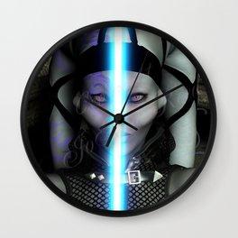 Tu Fue Ego Eris Wall Clock