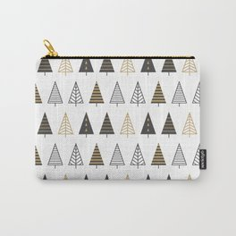MODERN CHRISTMAS TREES Carry-All Pouch