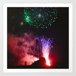 Fireworks #4 Art Print