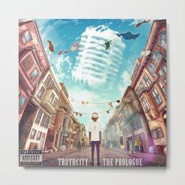 TruthCity - The Prologue Album Art Metal Print