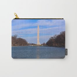 The Washington Monumet On Christmas Day 2017 Carry-All Pouch