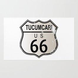 Tucumcari Route 66 Rug