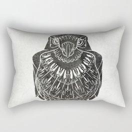 Listen To The Owl Rectangular Pillow