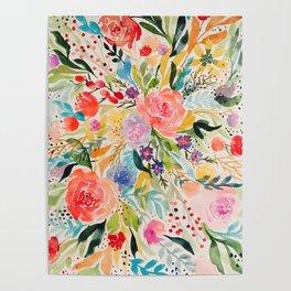 Flower Joy Poster