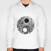 ying yang Hoodies featuring Ying-Yang by Carina Maitch