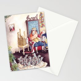 The King - Sing a Song of Sixpence Stationery Cards