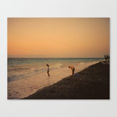 Mother and daughter Canvas Print