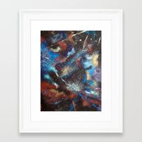 """courage Framed Art Prints featuring """"Courage"""" by Kasia Pawlak"""
