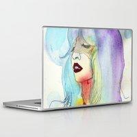 melissa smith Laptop & iPad Skins featuring Melissa Stastiuk by Bea Barnachea