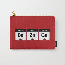 Bazinga Periodic Table Funny Quote Carry-All Pouch