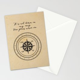 Moby Dick - Herman Melville - True Places Stationery Cards