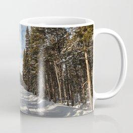 Yellowstone National Park - Grand Loop Road Coffee Mug