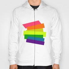 Retro Rainbow  Hoody