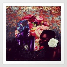 Untitled love Art Print