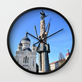 Cluj Archdiocesan Cathedral Wall Clock