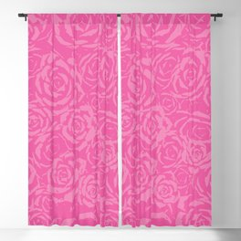 Succulent Stamp - Pinks #212 Blackout Curtain