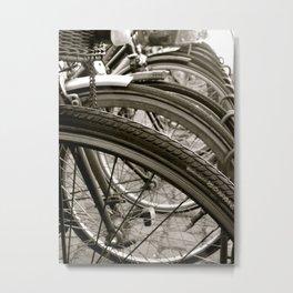 Bike København Metal Print