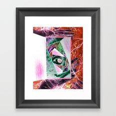When Madness Strikes Framed Art Print