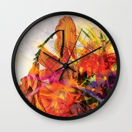 Dynomite! pillow Wall Clock