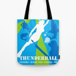 James Bond Golden Era Series :: Thunderball Tote Bag