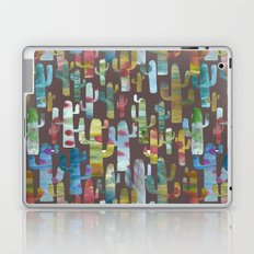 Watercolor Cacti - Browns Laptop & iPad Skin