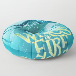 The Lost Heir - Wings of Fire Floor Pillow