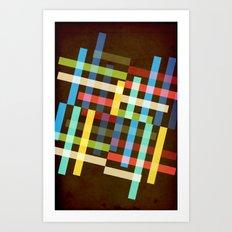 Up and Sideways Art Print