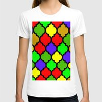 moroccan T-shirts featuring Moroccan HOLIDAY#3 by Saundra Myles