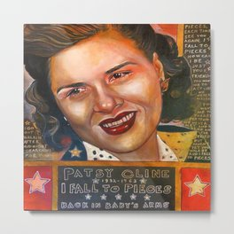 Patsy Cline Metal Print